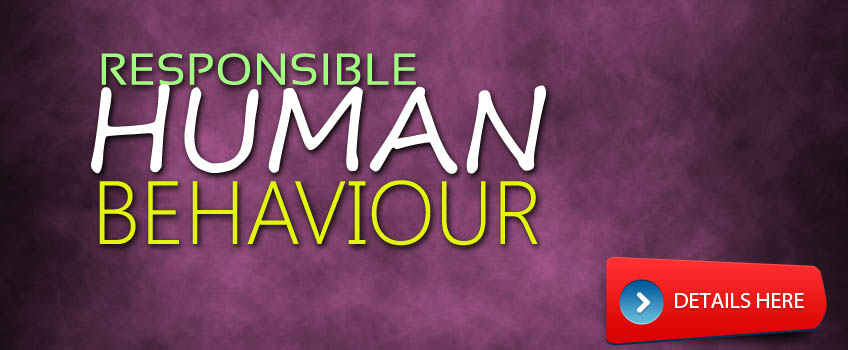 responsible_human_behaviour